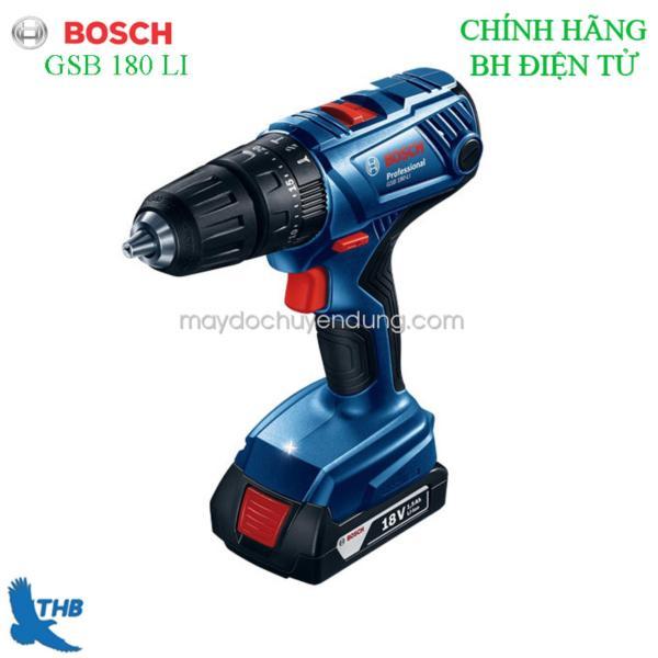 Máy khoan vặn vít dùng Pin Bosch GSB 180 Li