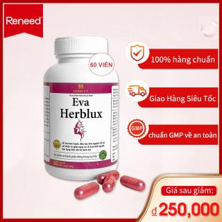 Viên uống phụ khoa Eva Herblux điều hòa kinh nguyệt, giảm đau bụng kinh thumbnail
