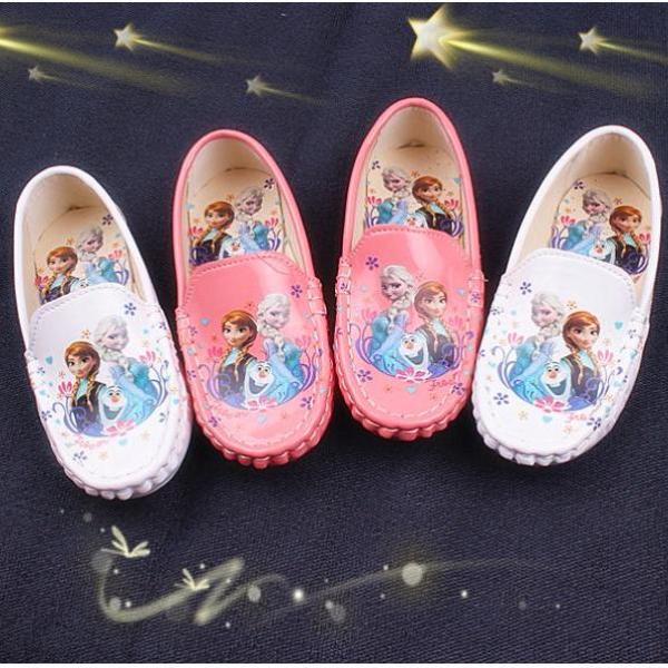 Giá bán Giày lười Elsa bé gái xinh từ 3 - 12 tuổi