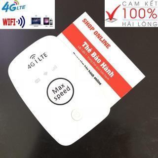 ( SẢN PHẨM PHÁT WIFI MỚI) CỤC PHÁT WIFI MAX SPEED 4G - Tặng siêu sim 4G từ MƯỜNG THANH ROYAL thumbnail