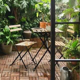 Bàn gấp Tarno và ghế đẩu gấp ngoài trời Bàn ghế ngoài trời gỗ keo ngoài trời IKEA hàng xuất khẩu - Bàn, Ghế làm việc văn phòng đa năng, có thể gấp gọn thumbnail