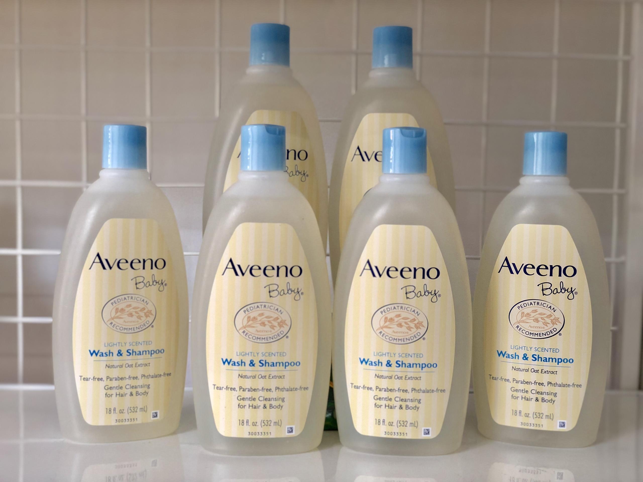 Sữa tắm gội cho Bé Aveeno tốt nhất