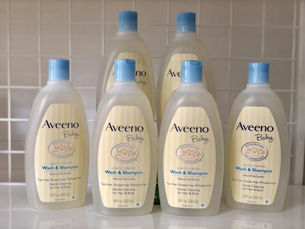 Sữa tắm gội cho Bé Aveeno