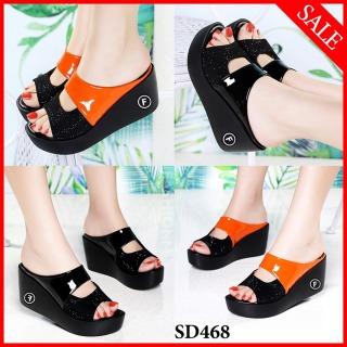 Dép sandal đế xuồng siêu xinh-SD468A thumbnail
