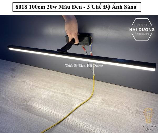 Đèn soi tranh - Đèn rọi gương Led Model 8018 100cm 20w 3 Chế Độ Ánh Sáng - Điều chỉnh được góc chiếu