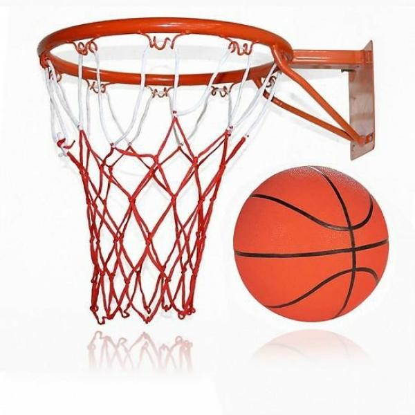 Combo bộ sản phẩm Khung Vành bóng rổ 30, 35, 40cm + quả bóng rổ số 3,5, 6,7