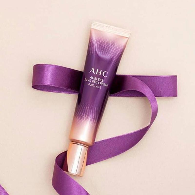 Kem Dưỡng Mắt Cải Thiện Nếp Nhăn AHC Ageless Real Eye Cream For Face