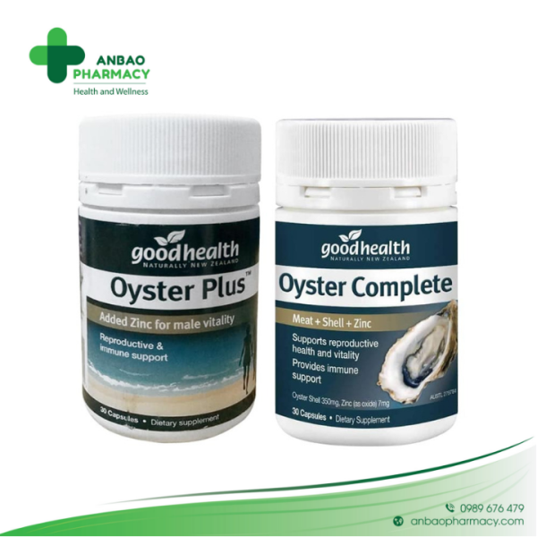 Oyster Plus - Cải thiện sức khỏe nam giới