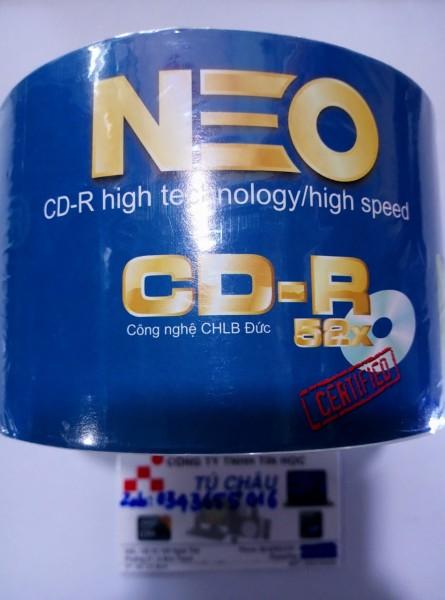 Bảng giá Đĩa trăng CD-Rom NEO: CD - R 700MB - 80MIN/52X  - Lốc 50 Cái Phong Vũ