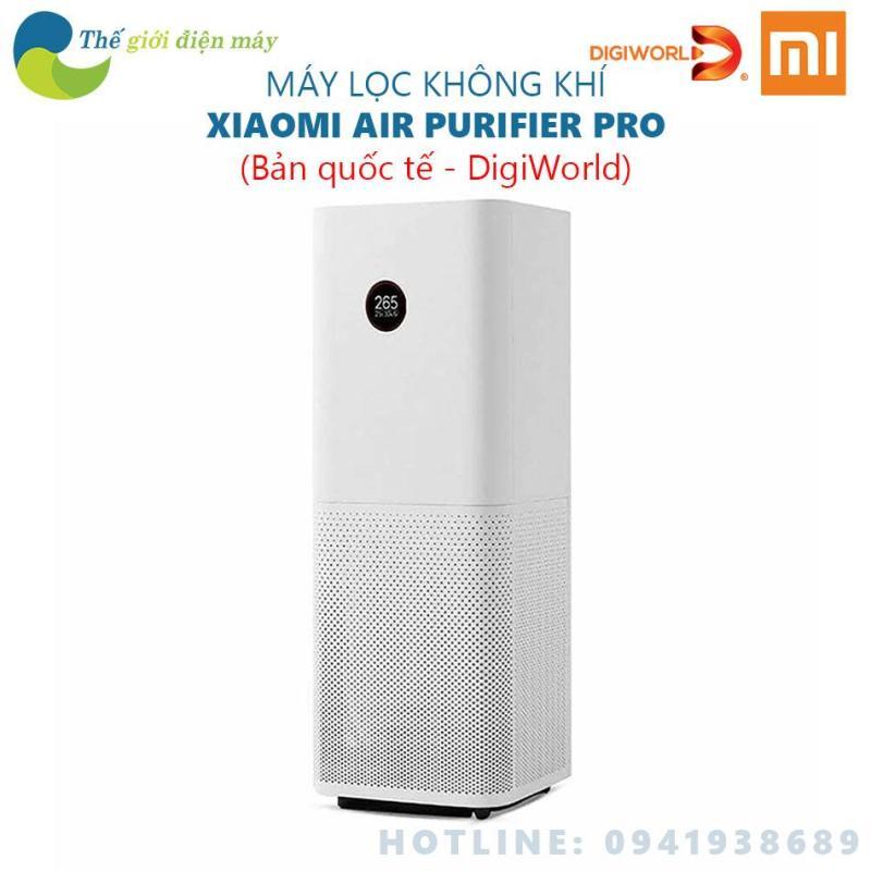 [Bản quốc tế] Máy lọc không khí Mi Air Purifier Pro - Phân phối bởi DigiWorld - Shop Thế giới điện máy
