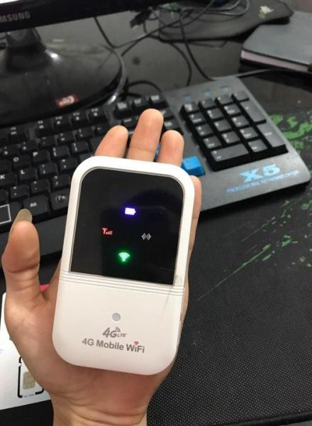 Bảng giá Bộ phát wifi 3G/4G từ sim LTE A800 hộp vàng pin rời 2400mAh cực mạnh Phong Vũ
