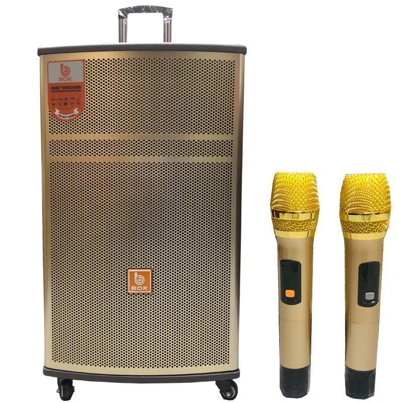 Loa kéo Bass 40 Vỏ Gỗ Cao Cấp, Hát Karaoke cực hay, Tặng Micro kim loại xịn.bluetooth.karaoke.nghe nhạc.kẹo kéo.mini.bass mạnh.giá rẻ.công suất lớn.led 7 màu.gia đình.cỡ lớn