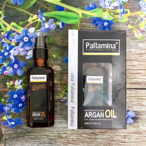 [HCM]Tinh dầu dưỡng tóc PALLAMINA Collagen Keratin Complex 60ml
