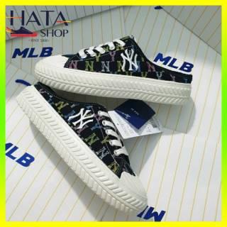 Giày sục nữ thể thao NY họa tiết nhiều màu cực xinh HOT TREND 2021 Hatashop, giày sục nữ thể thao đẹp cực xinh mang siêu êm chân thumbnail