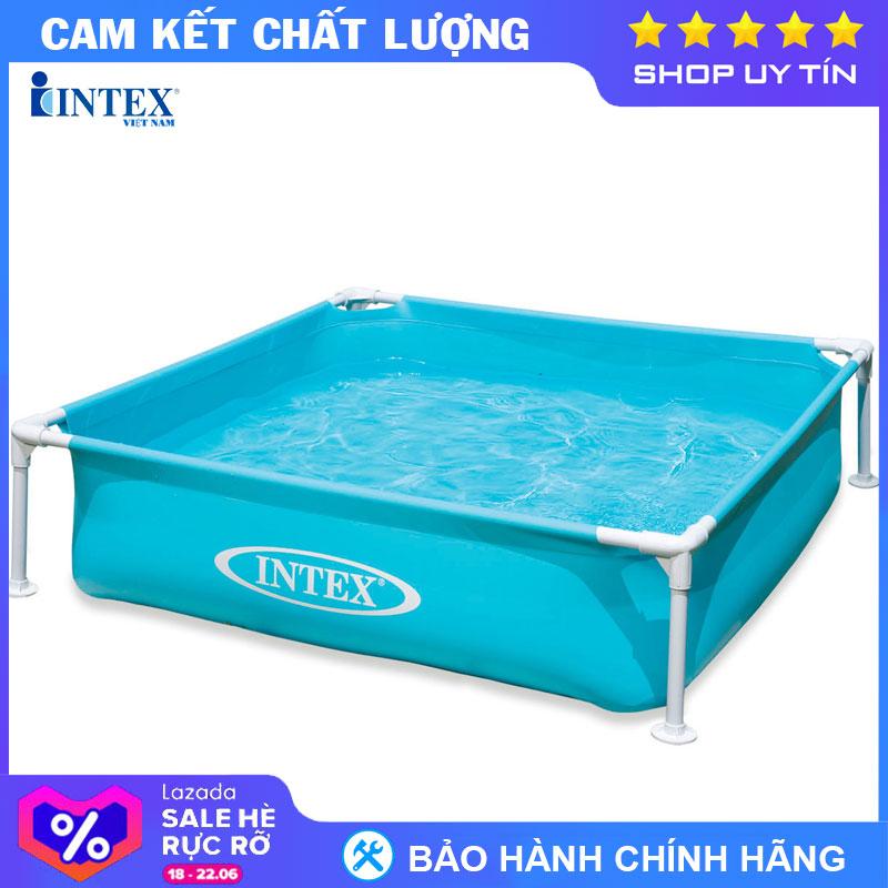 Cơ Hội Giá Tốt Để Sở Hữu Bể Bơi Khung Kim Loại Cho Bé INTEX 57173 - Hồ Bơi Cho Bé Mini, Bể Bơi Phao Trẻ Em
