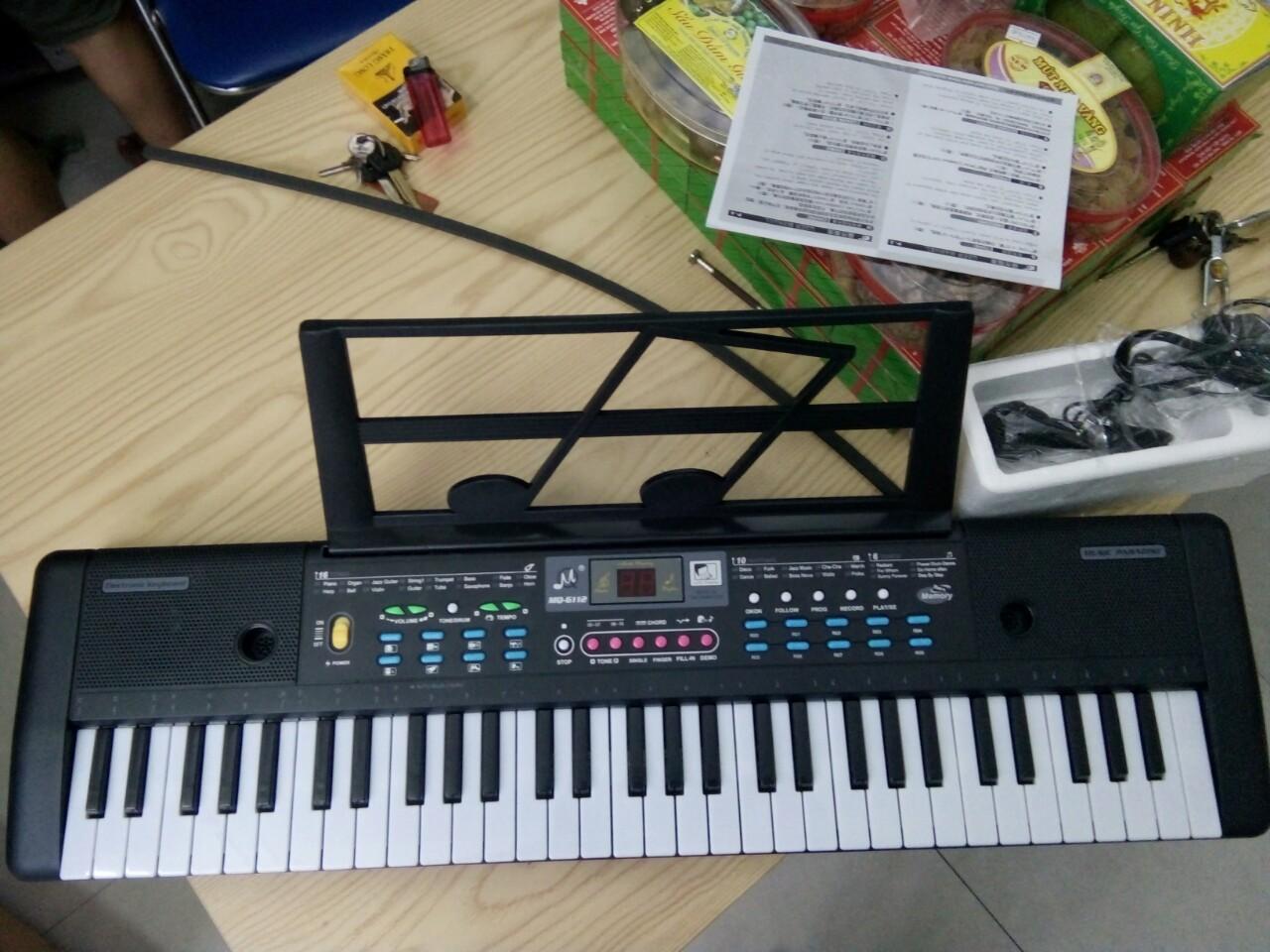 Đàn PIANO cho người mới học đàn, Đàn 61 phím dài 75 cm