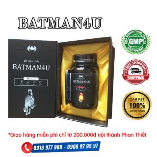 Bổ Thận Tinh BATMAN4U - Giúp bổ thận tráng dương, tăng cường chức năng sinh lý nam thumbnail