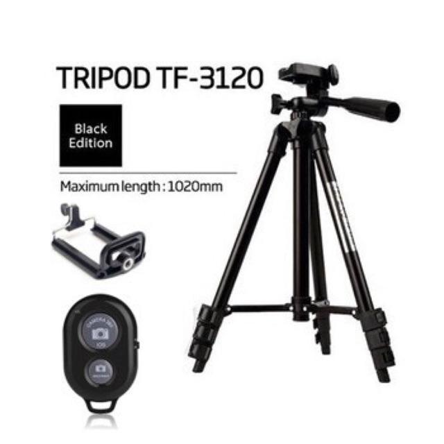 Gậy Tripod 3 Chân 3120 + Tặng Remote Giảm Giá Khủng