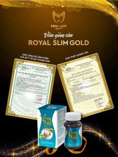 Viên Uống Giảm Cân Royal Slim Gold Minh LaDy Beauty thumbnail