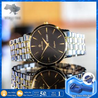 Đồng hồ Nam Chính Hãng Sunrise DM1216SWA B [Full Box + Thẻ BH 3 Năm] Kính Sapphire Chống Nước - Chống Xước - Dây Thép thumbnail