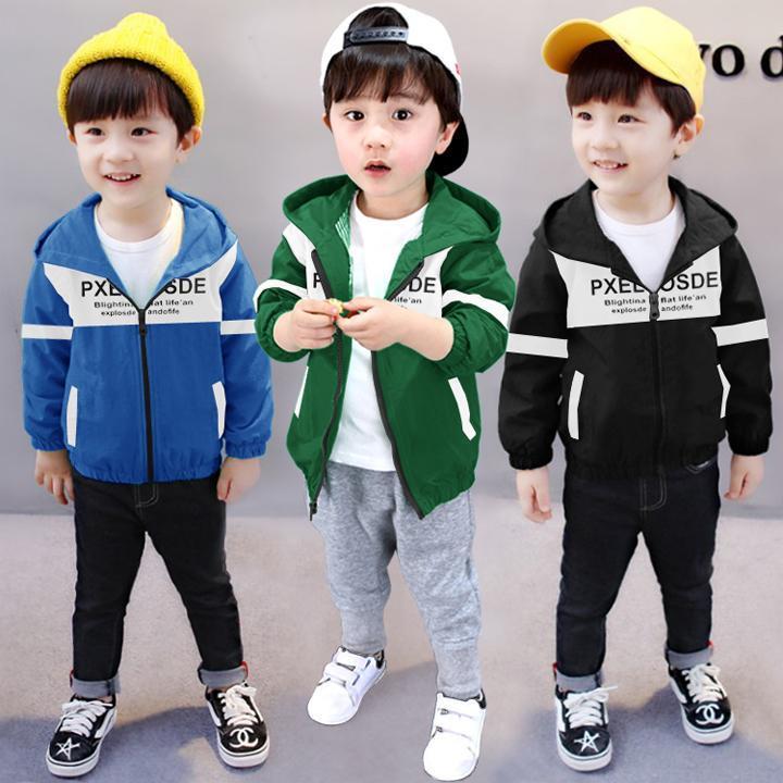 Áo Khoác Trẻ Em Bé Trai Thời Trang Cá Tính - TTN00147 Nhật Bản