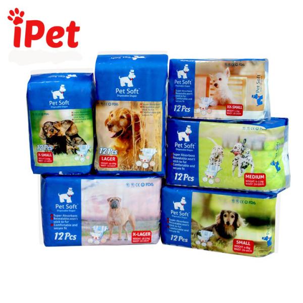 Tã Bỉm Vệ Sinh Petsoft Cho Chó Mèo Size XL - iPet Shop
