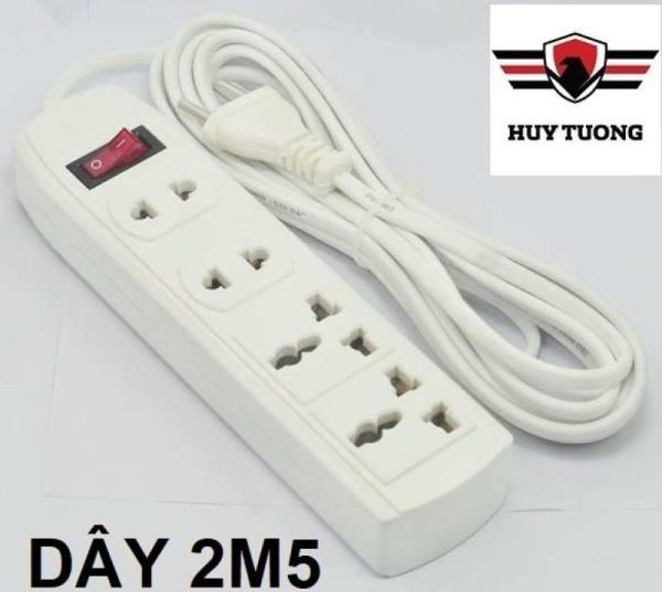 Bảng giá Ổ cắm điện chịu nhiệt cao cấp Ominsu 4 lỗ ( Dây 4m5 và 2m5 ) - Huy Tưởng LTD