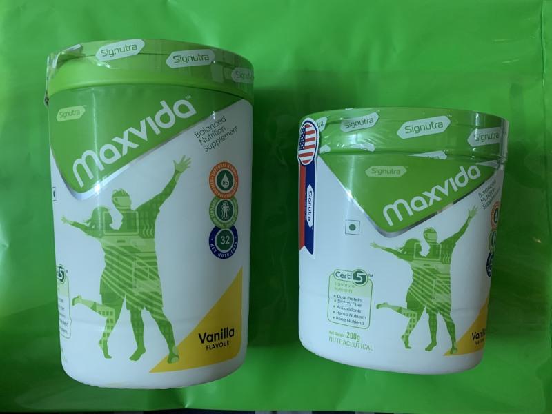 Combo mua 1 lon 400gr tặng 1 lon Maxvida 200gr Date t1/2021 Sữa Dinh dưỡng giá rẻ