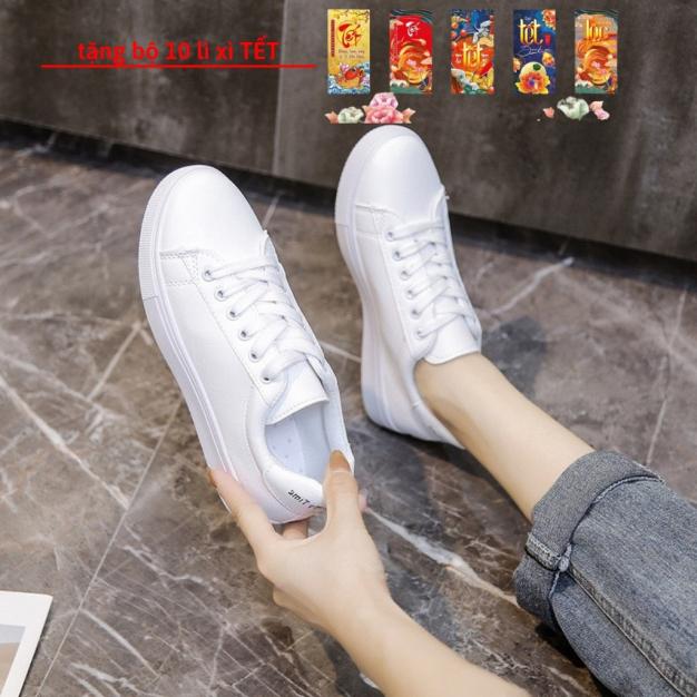 Giày Nữ Thể Thao DT47 Màu Trắng Mới 2020 Tăng Chiều Cao giá rẻ