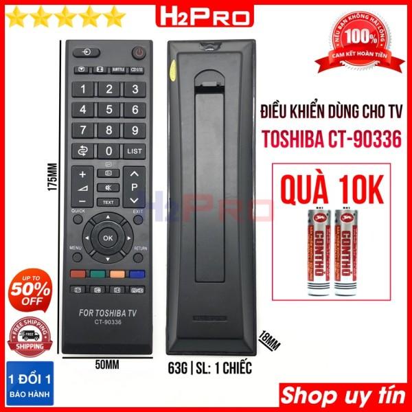 Bảng giá Điều khiển dùng cho tivi TOSHIBA CT-90336 H2Pro sử dụng tốt (1 chiếc), remote điều khiển cho tv TOSHIBA giá rẻ (tặng đôi pin 10K)