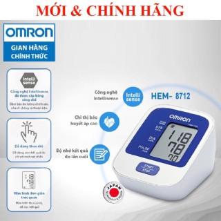 [HCM] Máy Đo Huyết Áp Tự Động HEM-8712 TIÊU CHUẨN Đo huyết áp bắp tay chính xác và thoải mái với Công nghệ IntelliSense tiên tiến. thumbnail