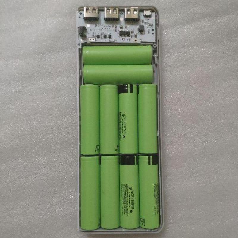 Bảng giá Box sạc dự phòng 10 cell dùng pin 18650 Sạc Nhanh 5V2.1A Phong Vũ
