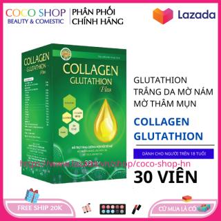 Viêng uống trắng da Ngọc Trinh Collagen Glutathion Plus giúp da khỏe đẹp căng bóng chống lão hóa hộp 30 viên HSD 2023 thumbnail