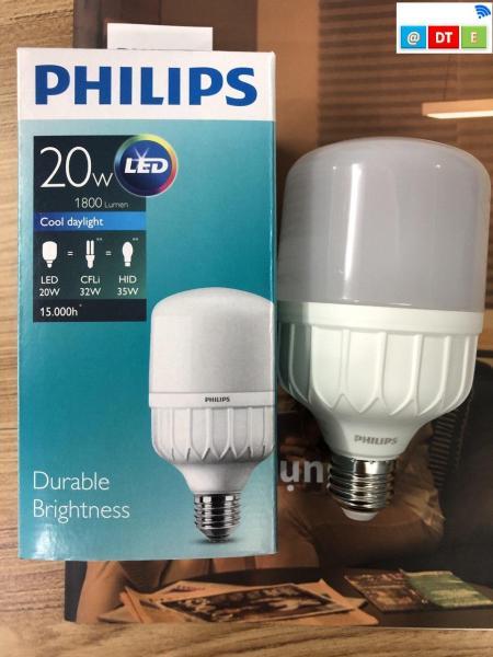Bóng led bulb trụ 20W giá cho 5 bóng