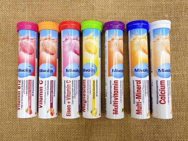 Viên Sủi Vitamin Mivolis Hàng Đức chọn ngẫu nhiên