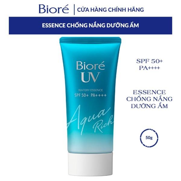 Essence Chống Nắng Màng Nước Dưỡng Ẩm Bioré UV Aqua Rich Watery Essence SPF50+/PA++++ 50G