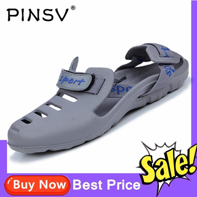 Offer tại Lazada cho Dép PINSV Cho Nam Giày đi Biển Dép Mát Chống Trượt