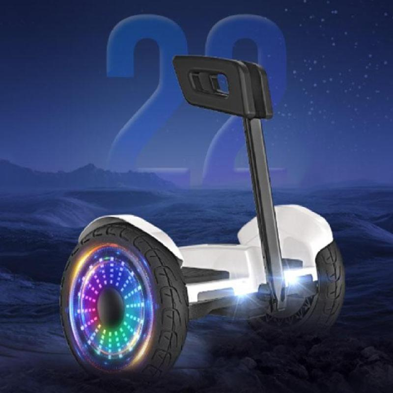 Phân phối XE ĐIỆN CÂN BẰNG THÔNG MINH- Xe điện cân bằng Mini Robot - BẢN MỚI Có Bluetooth, đèn led, tay xách