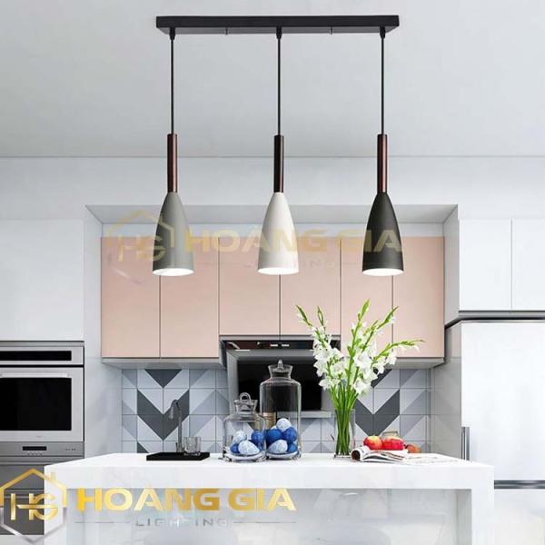 Bảng giá Đèn thả bàn ăn - đèn trang trí phòng bếp -Tặng 3 bóng ,chao nhôm KITCHENLAMP Bảo hành 12 tháng