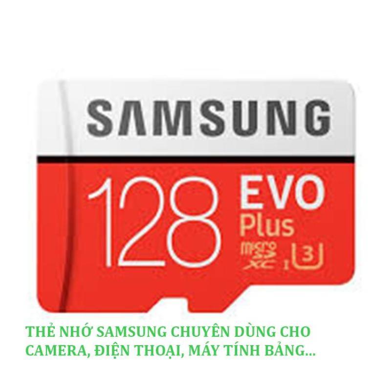 Thẻ Nhớ MicroSDXC Samsung Evo plus 128GB - Hình thật- Bảo hành 24 tháng- Thẻ nhớ micro sd 128GB