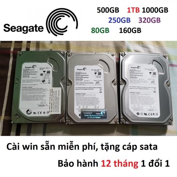 Bảng giá Ổ cứng 1TB 500GB 250GB 160GB 80GB Seagate HDD PC 500GB máy bàn HDD 250GB 1000GB 250G 500G 1T 1000G 250G 160G 80G Phong Vũ