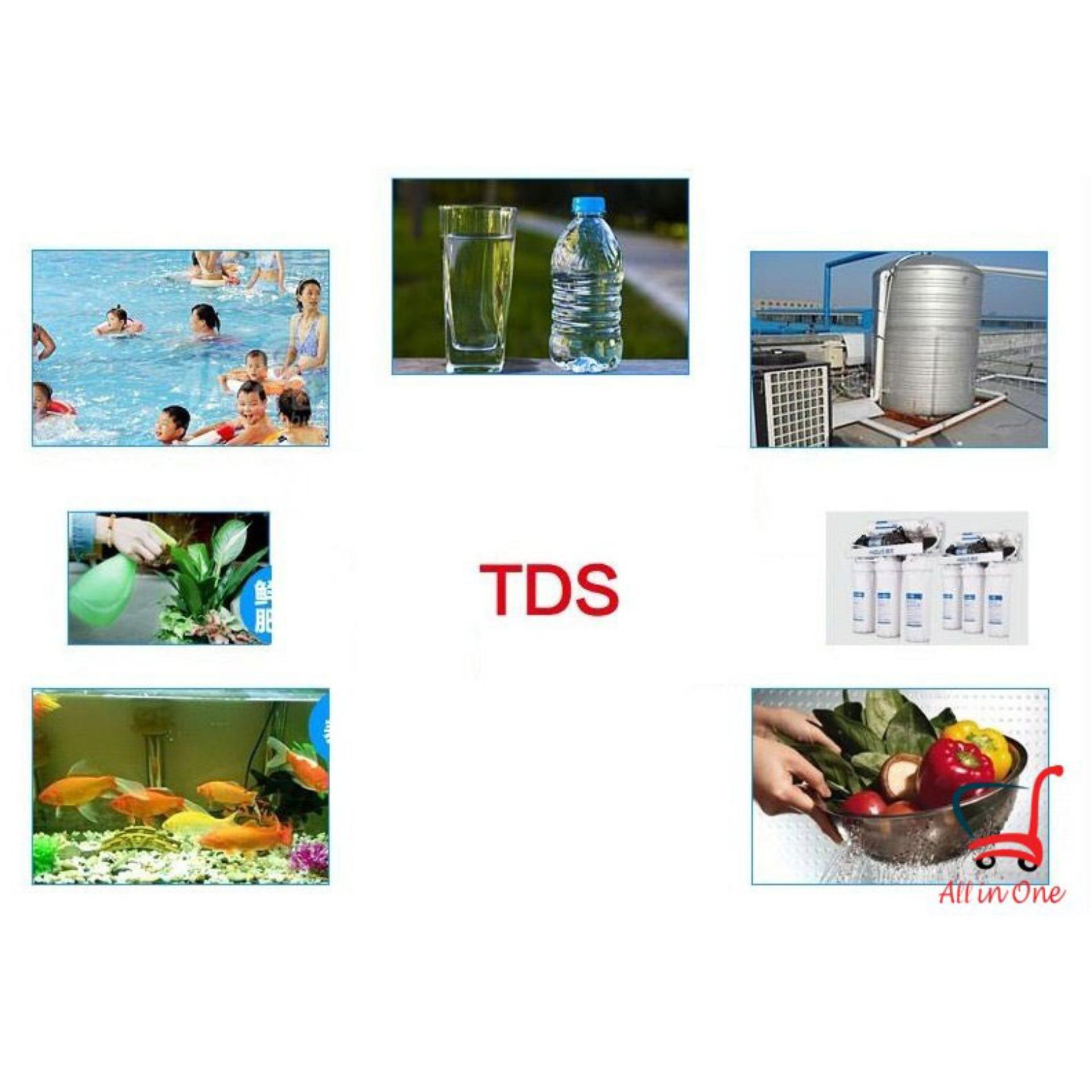 Bút kiểm tra nước sạch-Cách đo độ ph trong hồ cá- Bút thử nước TDS-3 có độ chính xác cao, tiết kiệm thời gian, an toàn.Bảo hành tới 12 tháng-giảm giá 50%