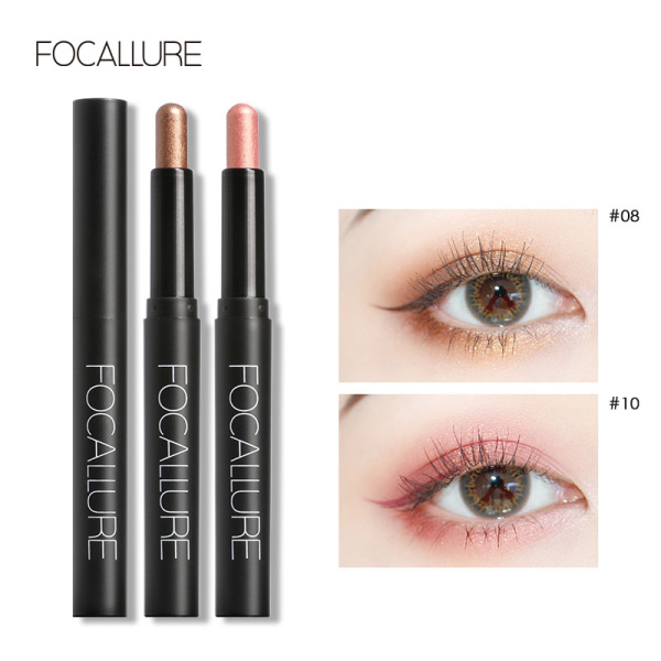 Phấn mắt FOCALLURE nhung mịn dạng bút gồm 12 màu tùy chọn 2g