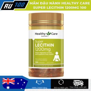 [CHÍNH HÃNG] Mầm đậu nành Super Lecithin 1200mg Healthy Care - ÚC [Duy trì, cải thiện, tăng cường sức khỏe, sắc đẹp và sinh lý cho nữ] - AU100 thumbnail