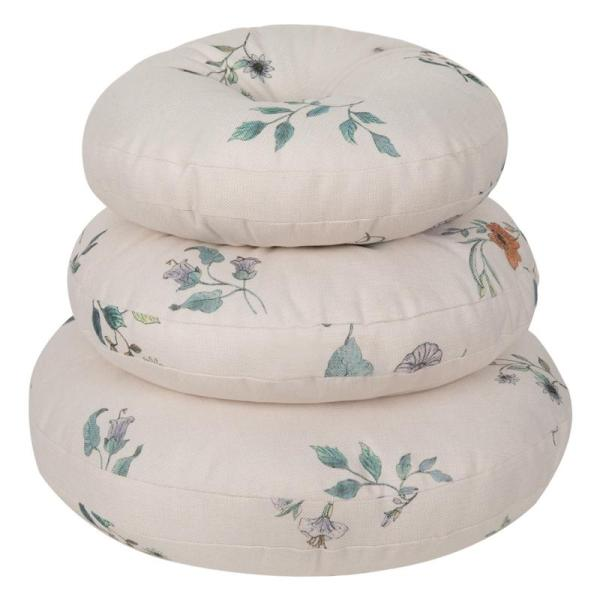 Pastoral Thick Fabric Futon Circle Coaster American Village Living Room Simple Originality throw pillow Schick Breathable Seat throw pillow