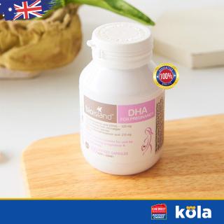 Viên uống Bổ sung DHA bầu của Úc Bio Island DHA for Pregnancy 60 viên thumbnail