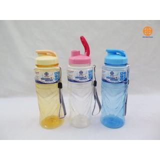 Bình nước học sinh nhựa PET 900ml - Bình nước thể thao 900ml thumbnail