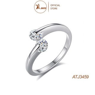 Nhẫn Bạc 925 Thiết kế Mở Đính Đá Zircon Thời Trang Cho Nữ ANTA Jewelry - ATJ3459 thumbnail