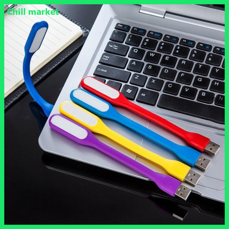 Bảng giá [Bộ 2 chiếc]Đèn LED USB cắm máy tính, sạc dự phòng, siêu sáng, chất liệu dẻo Chill market Phong Vũ