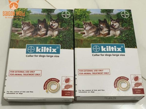 Vòng đeo cổ KILTIX (large) dành cho cún của bạn- Bảo vệ tối ưu